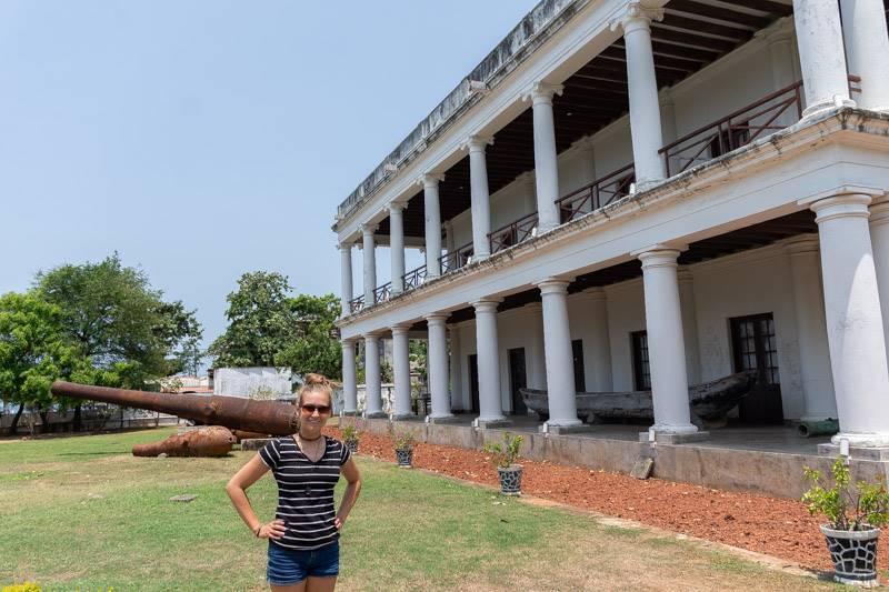 Maritime museum in Trincomalee, Sri Lanka