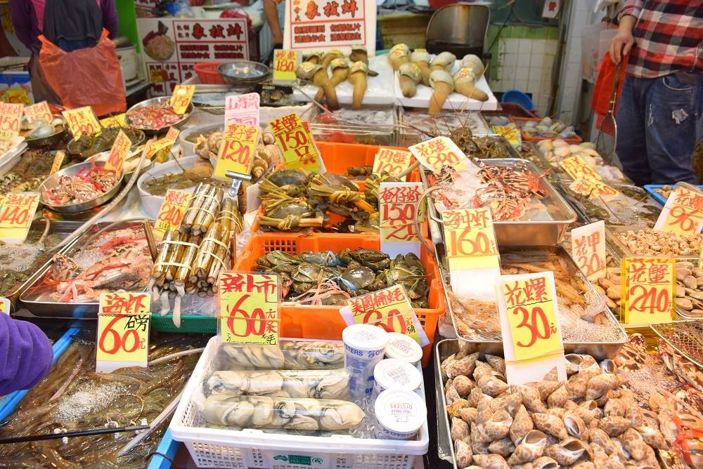 photo of markets in hong kong
