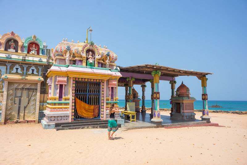 Salli Muthumariamunam Kovil Temple in Trincomalee Sri Lanka