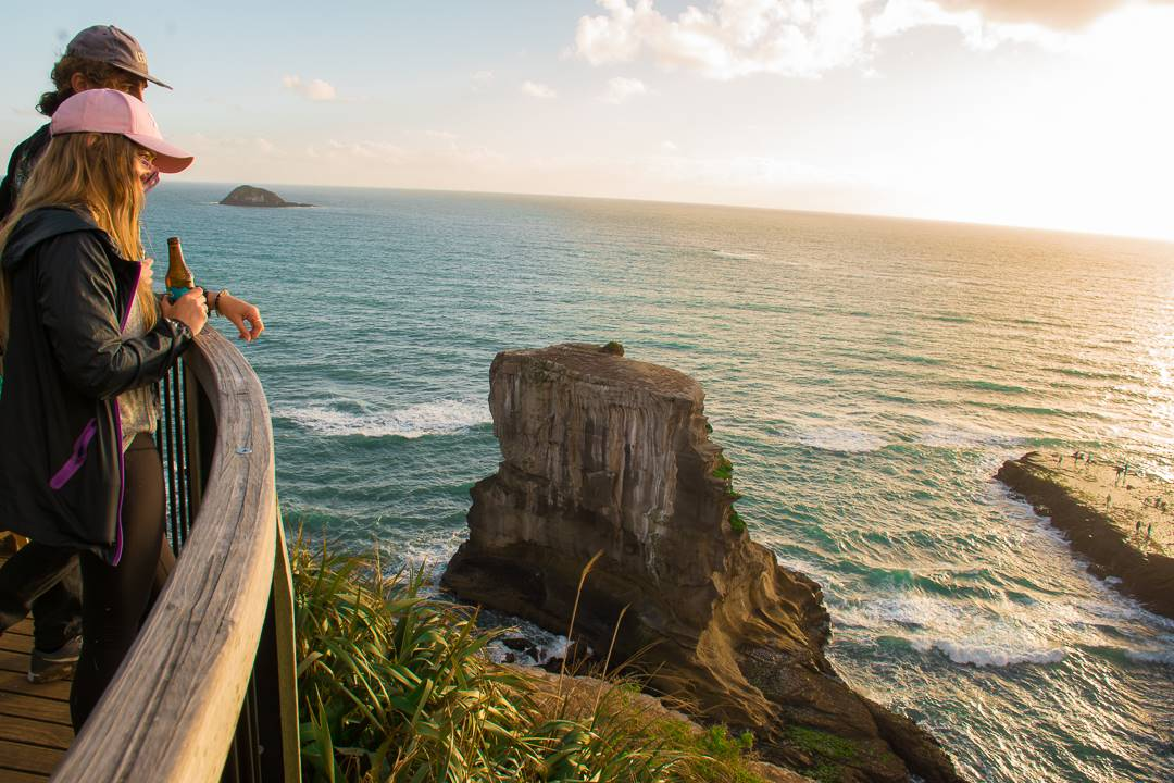 Auckland to Muriwai Beach