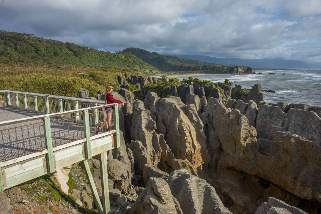 south island road trip stop, Punacaiki