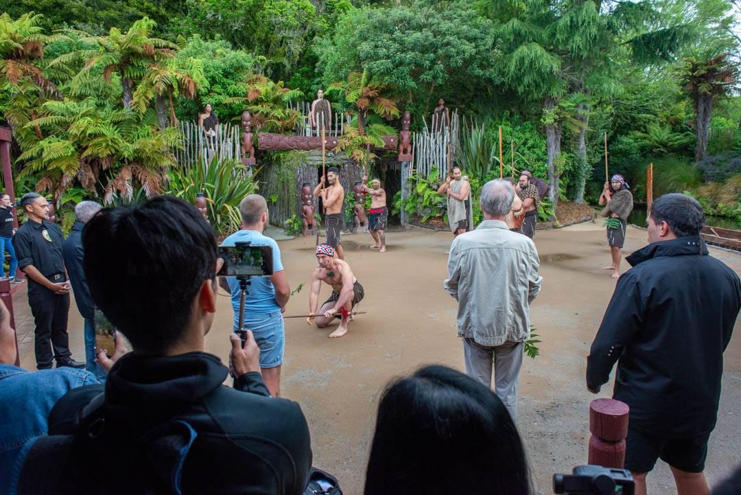 Traditional rotorua maori experience