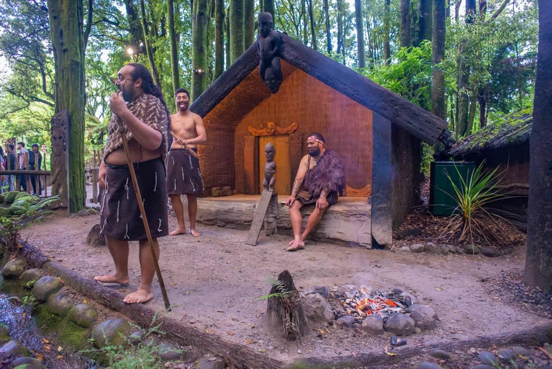 Rotorua Maori village