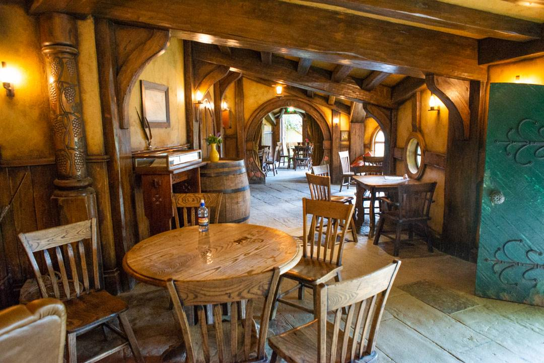 The green dragon bar in my hobbiton review