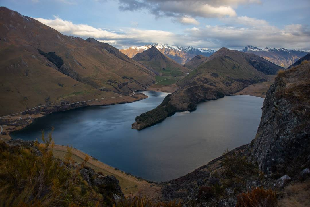 moke lake is a beautiful place near queenstown