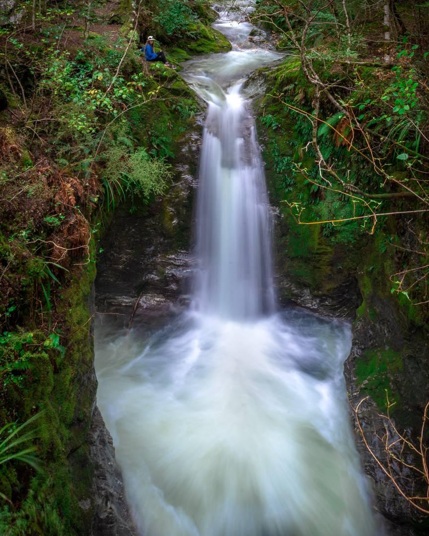 12 mile delta queenstown trail to sam summer hut waterfall