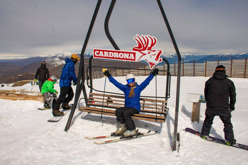 Cardrona Ski Field, New Zealand