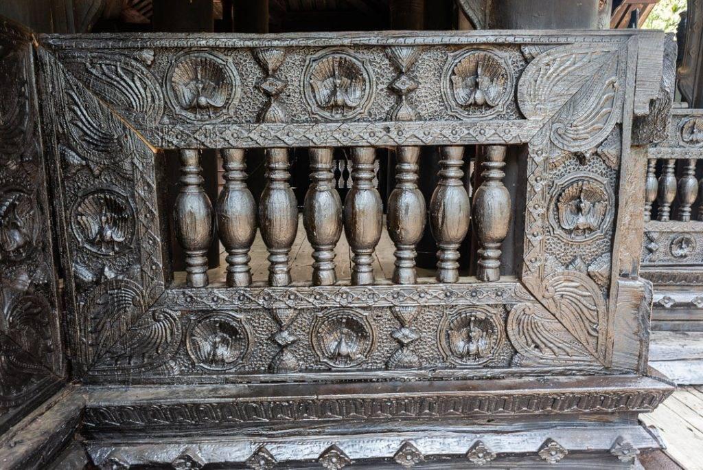 bagaya monastery wood