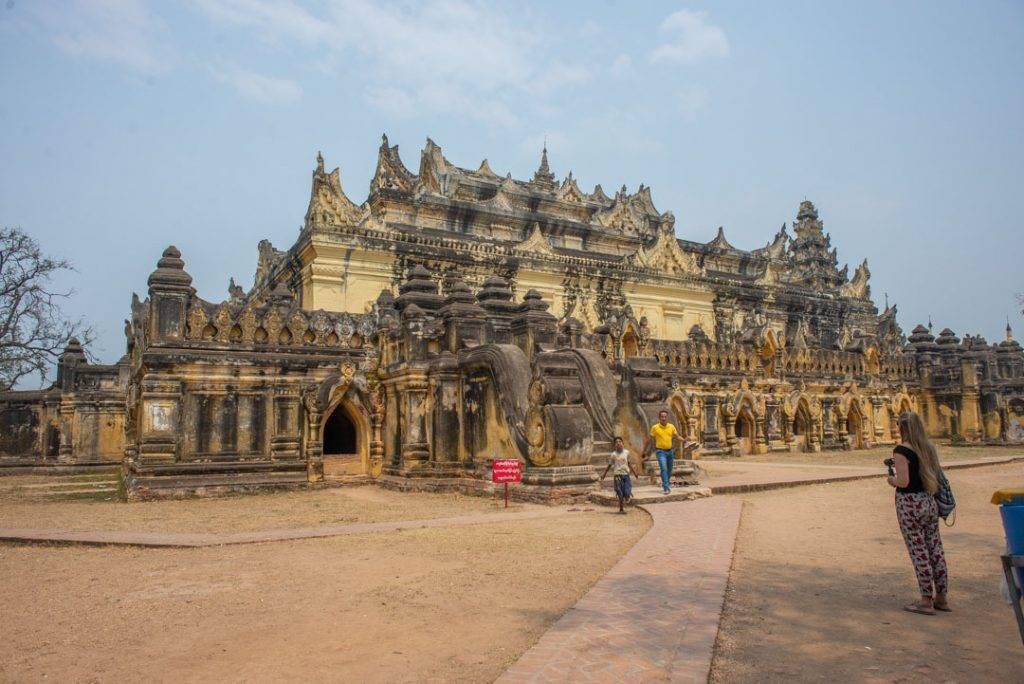 Maha Aung My Bom San Monastery