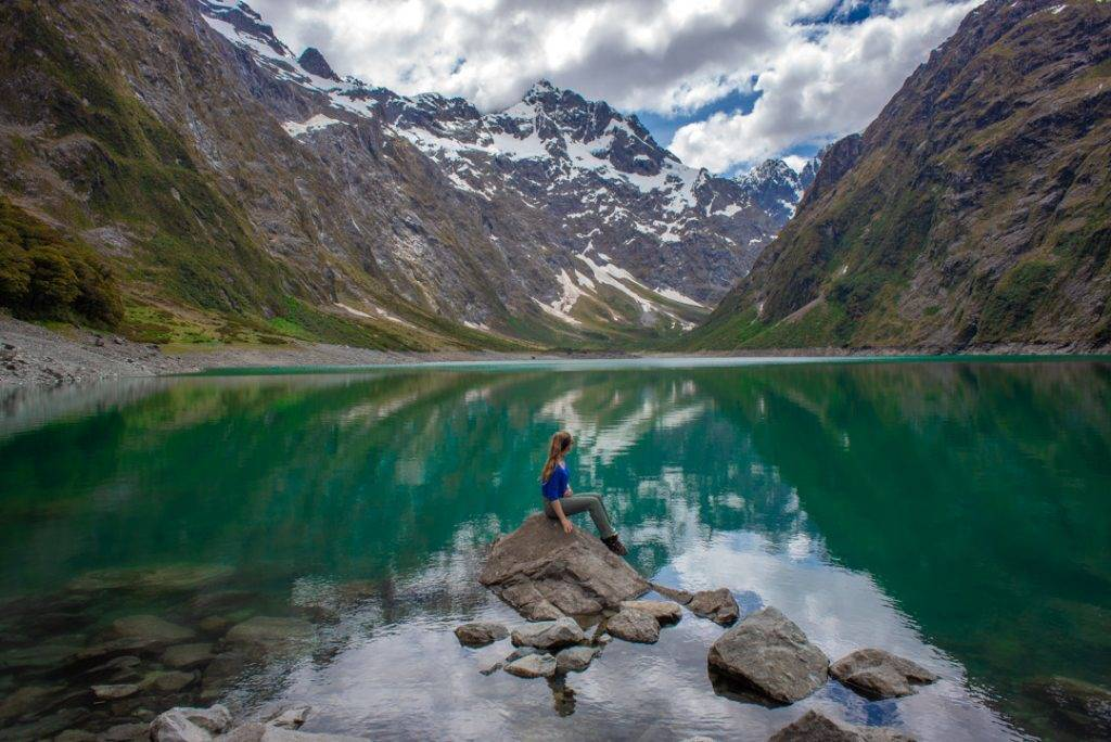 Visiting Lake Marian is one of the best things to do in New Zealand's South Island
