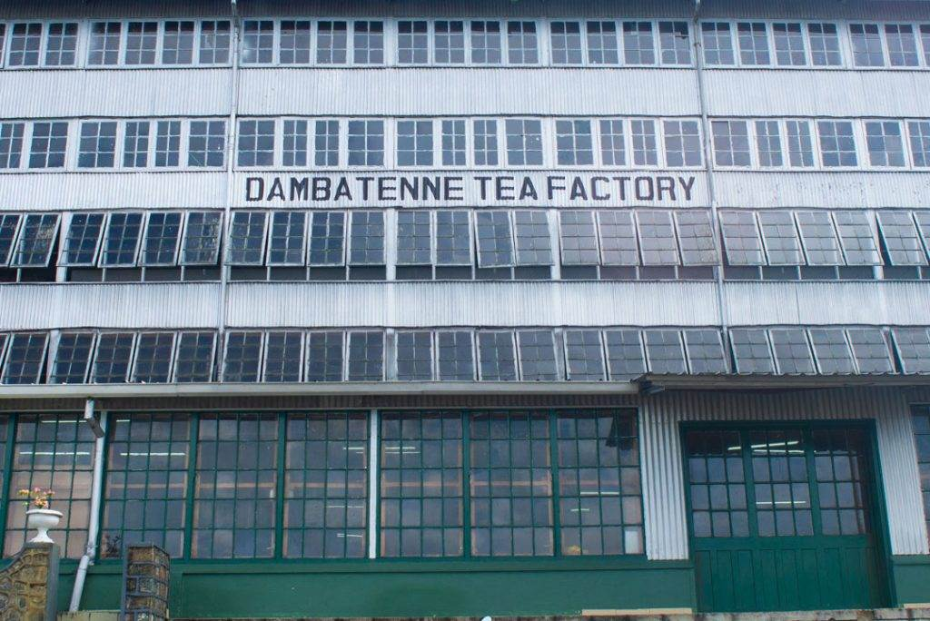 The Dambatenne Tea Factory near  Haputale