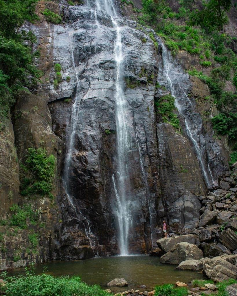 Bambarakanda Falls Sri Lanka
