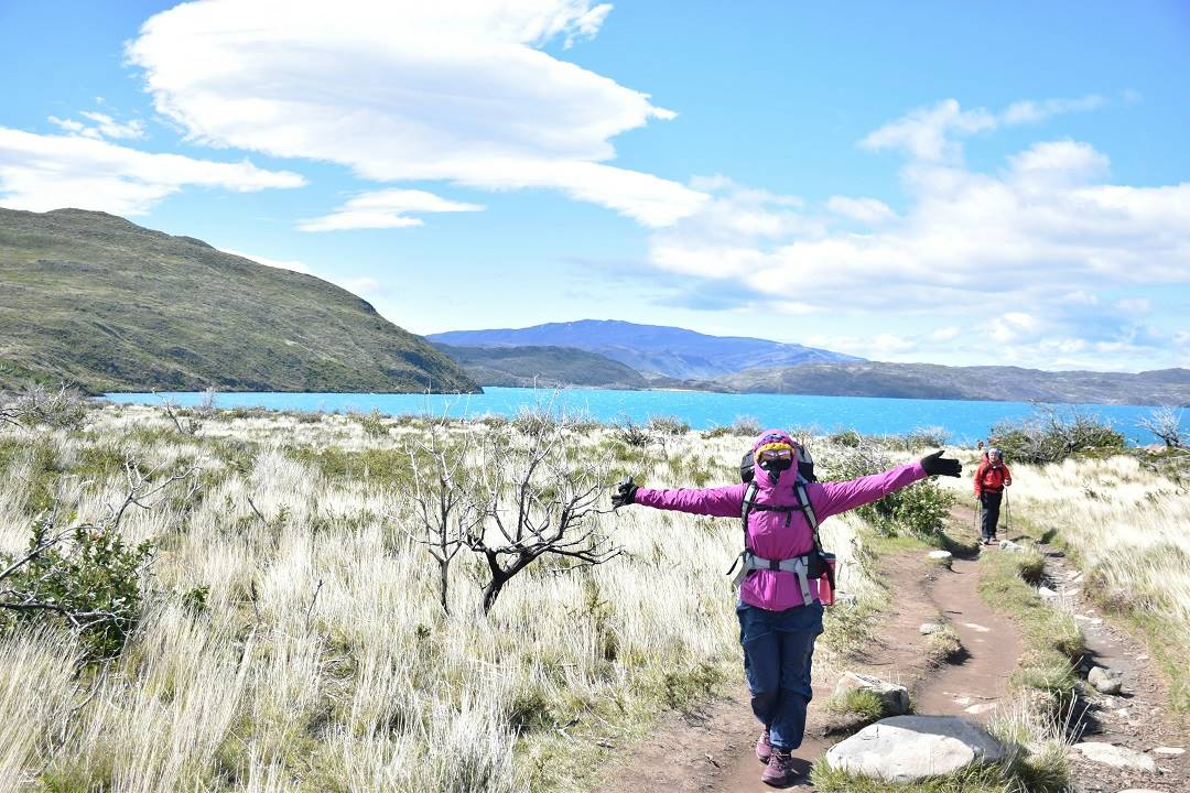 Torres del Paine camping spot 1