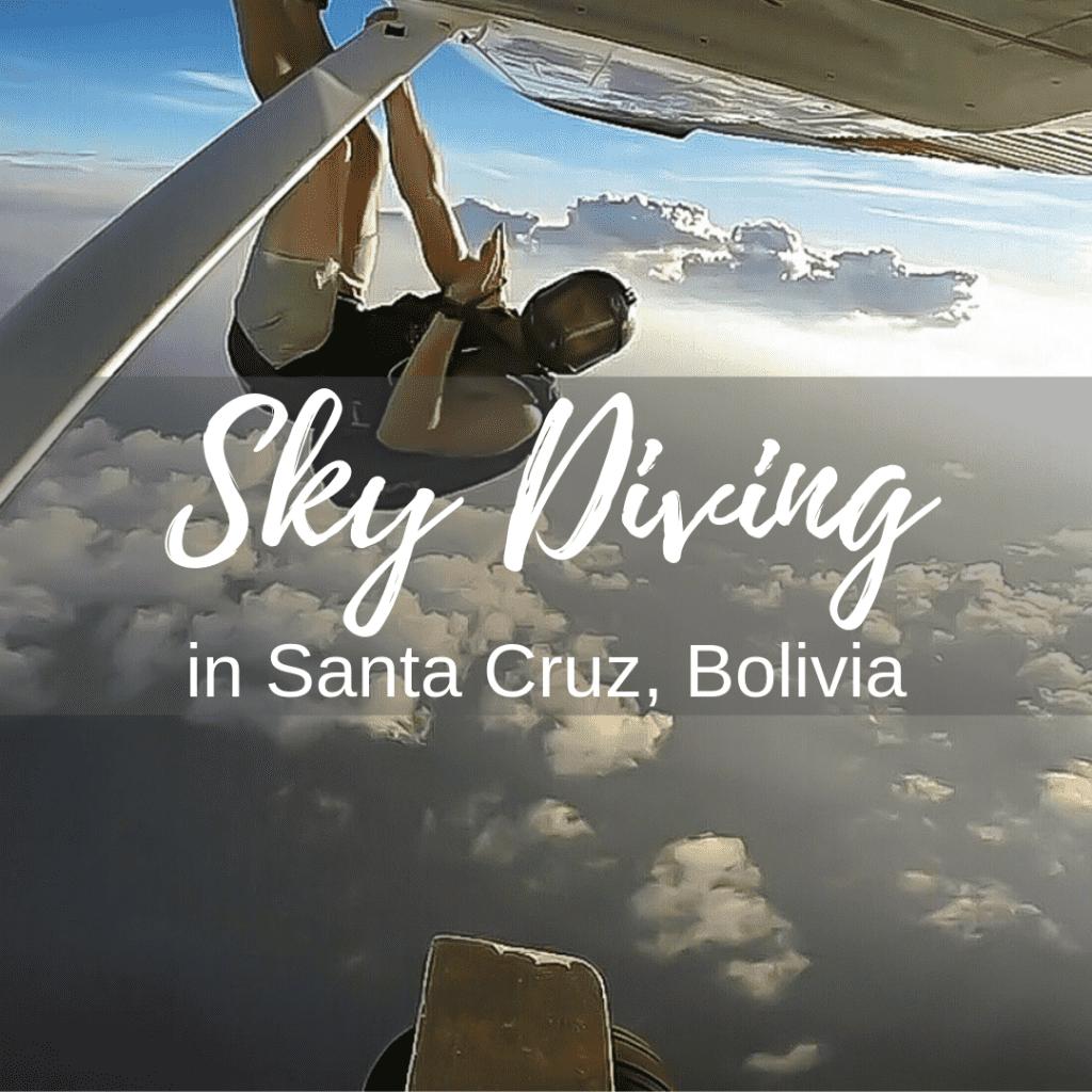 Skydiving in Santa Cruz, Bolivia