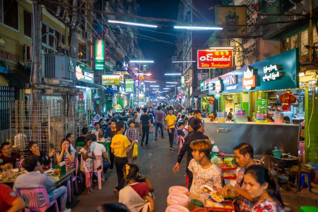 chinatown has some of the best food in yangon