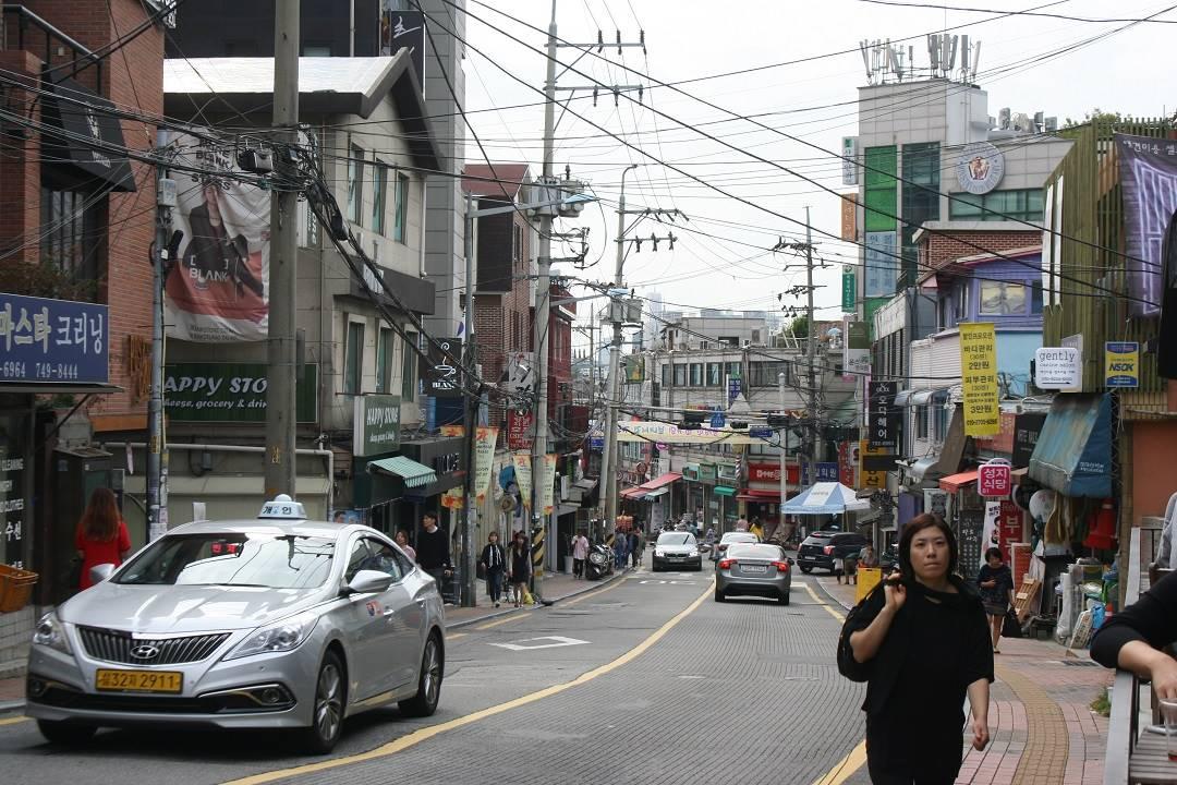 neighborhood of Insa-dong