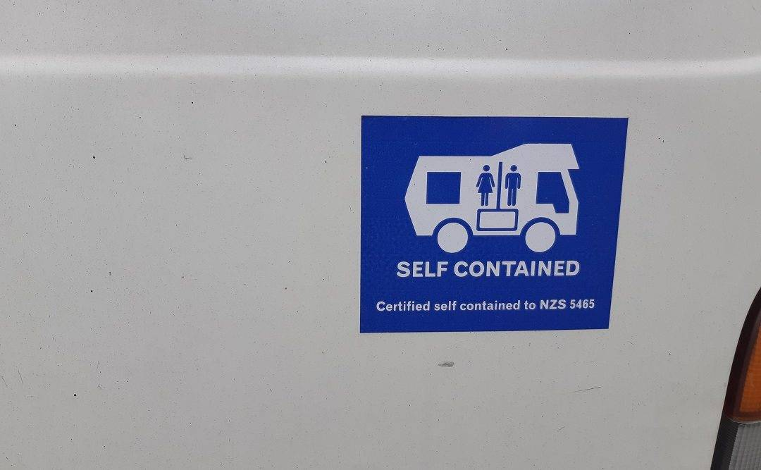 the slef contained sticker in new zealand