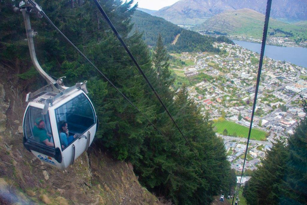 the gondola to shorten your hike to the ben lomond summit