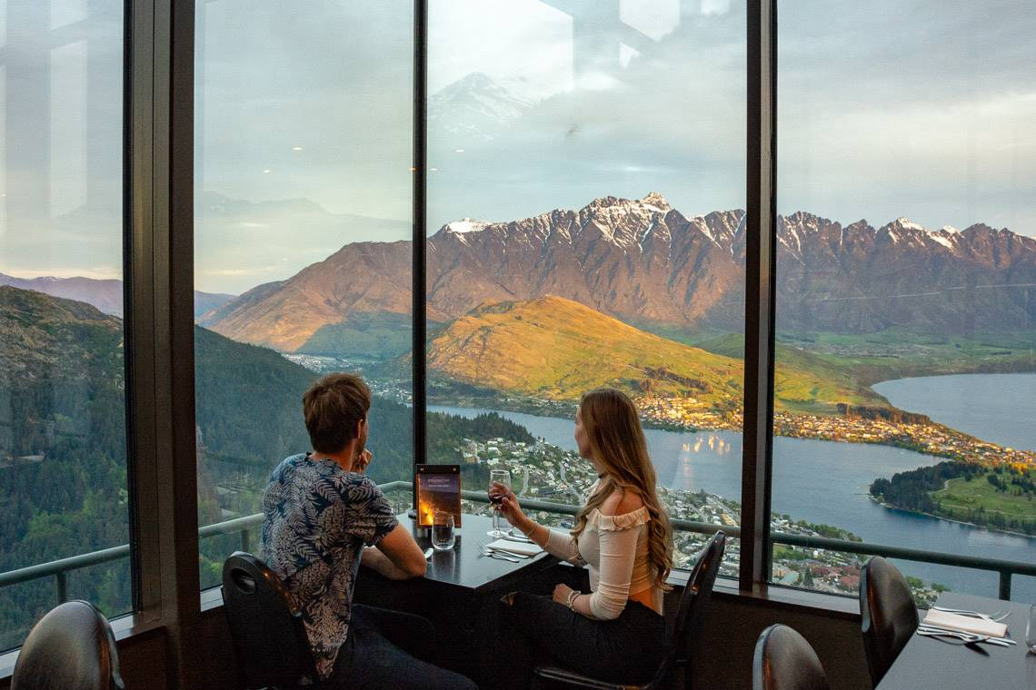 the view of queenstown