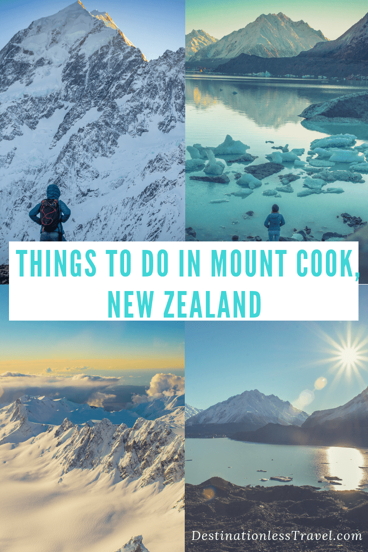 things to do in mount cook, new zealand pinterest