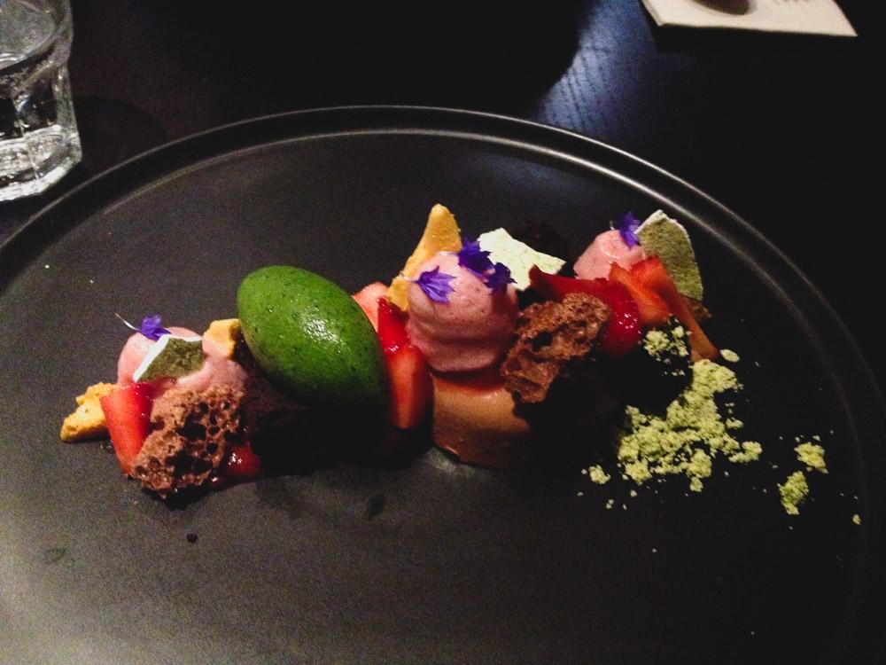 Dessert at Milse in Auckland city