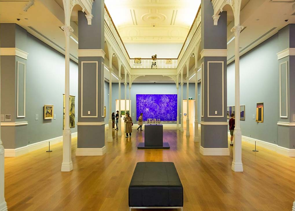 A room at the Auckland Art Gallery