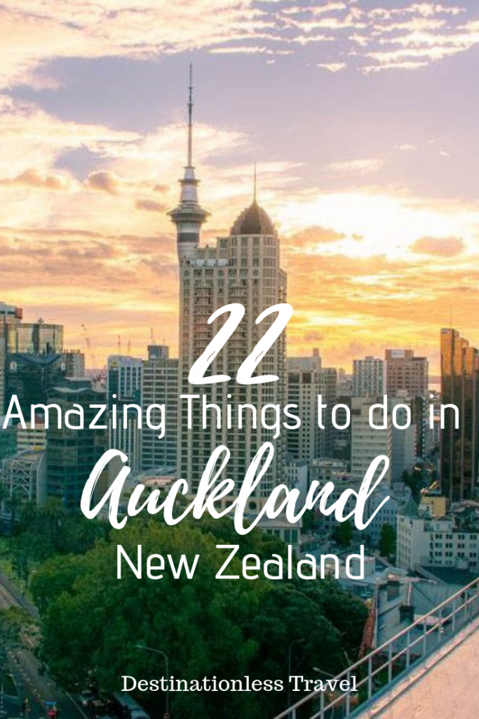things to do in auckland pin