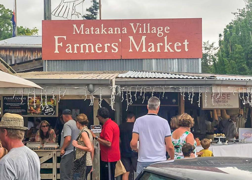 Matakana Farmers Market, Auckland, NZ