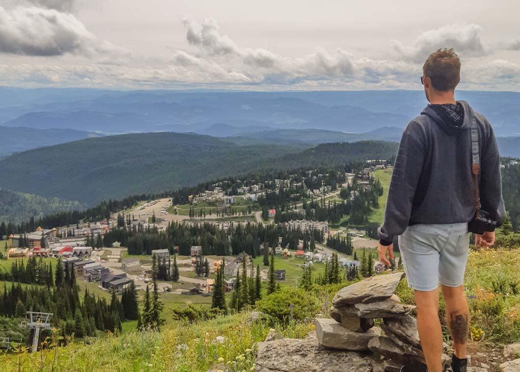 Hiking in Vernon, BC