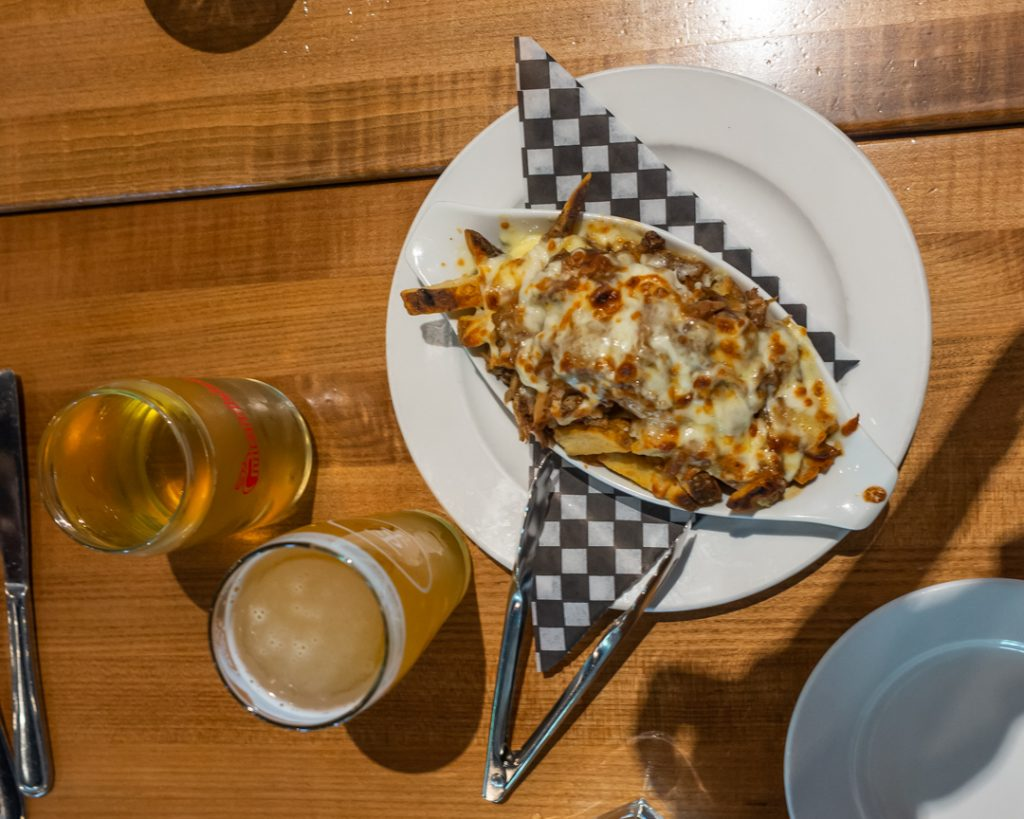One of the classic Canadian dishes we tried on our food tour