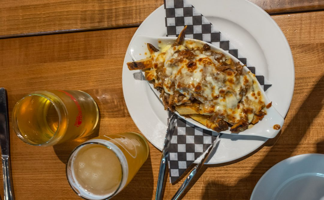 One of the classic Canadian dishes we tried on our food tour in vancouver