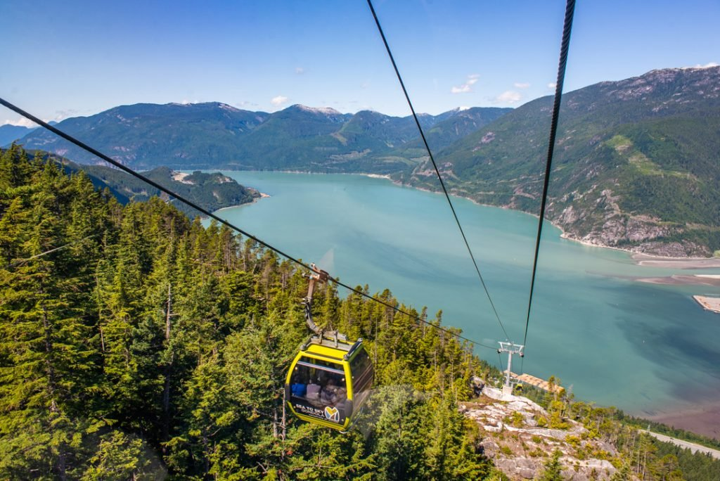 sea to sky gondola in squamish