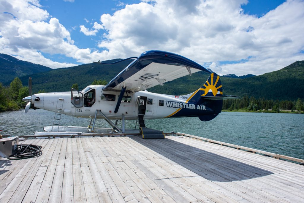 Whistler air scenic float plane flights