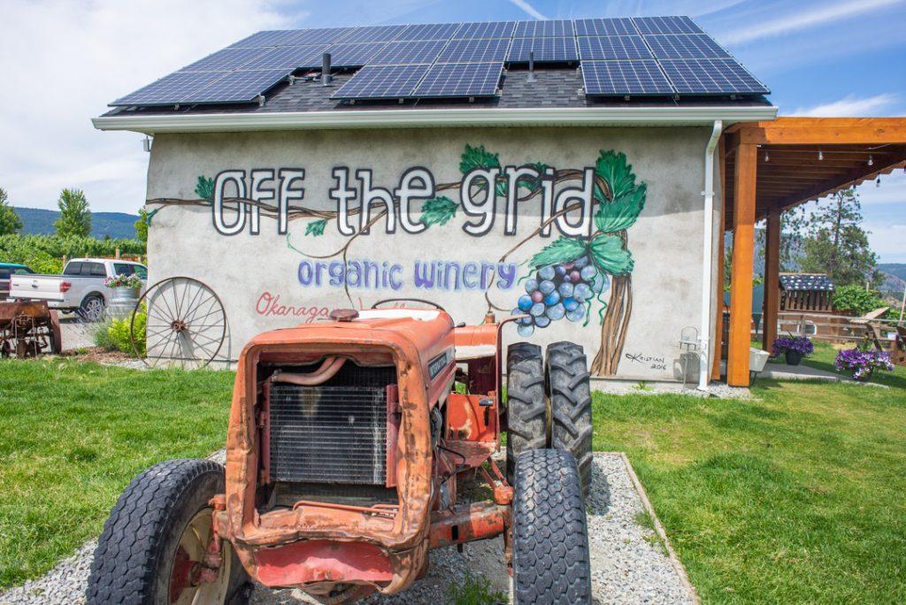 Off the Grid Winery in Kelowna