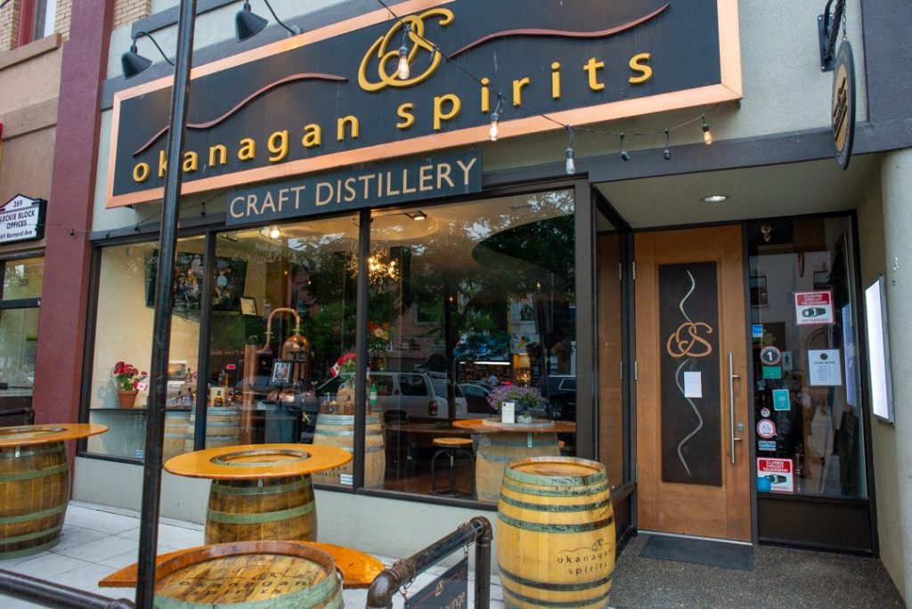 Okanagan Spirits in downtown Vernon