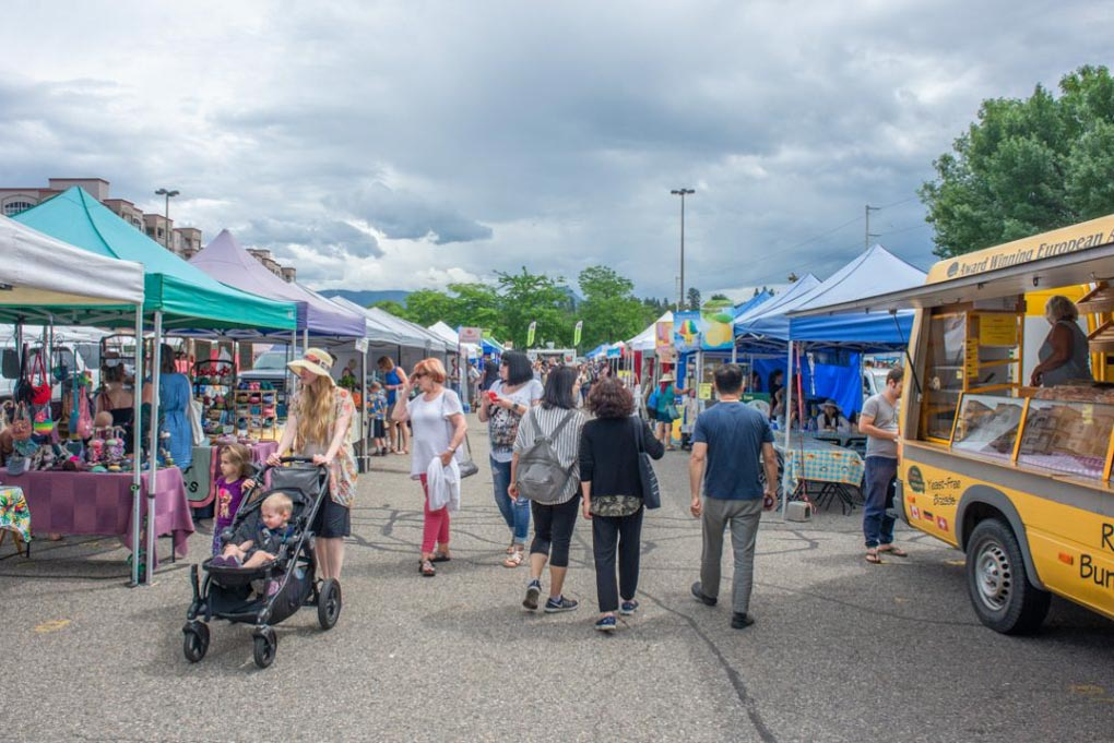 The Kelowna Farmers and Craft Market!
