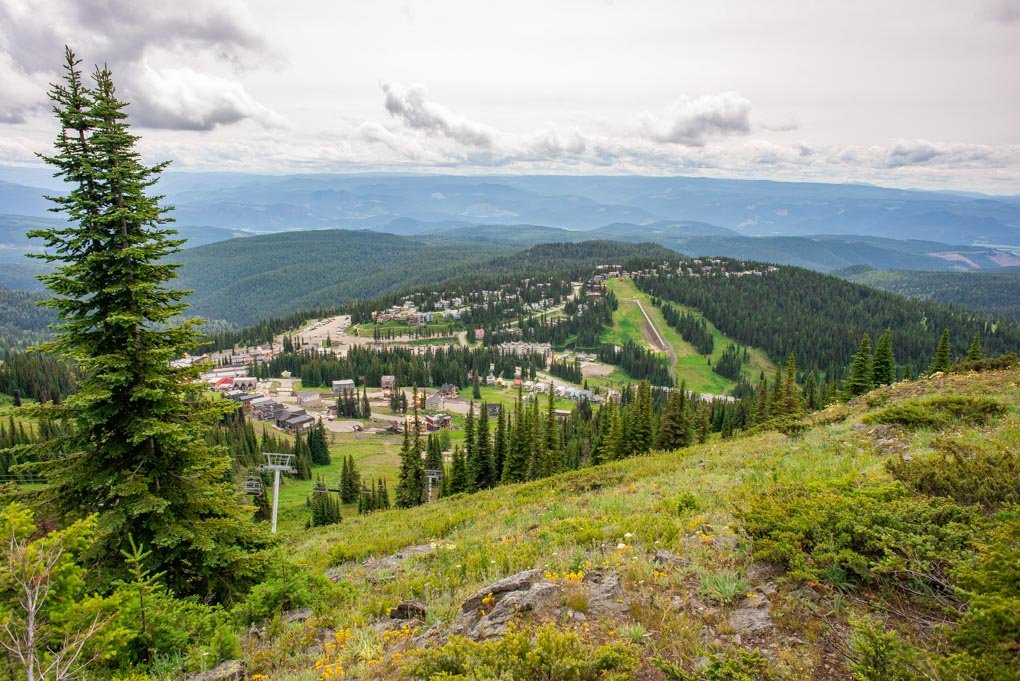 Silver Star Mountain Resort near Vernon, BC