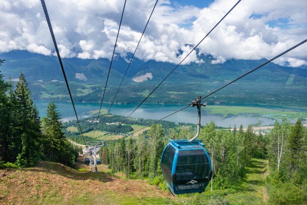 The Gondola on the Revelstoke Mounts Resort