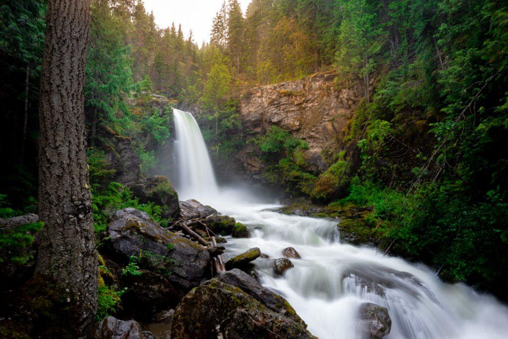Sutherland Falls Revelstoke BC