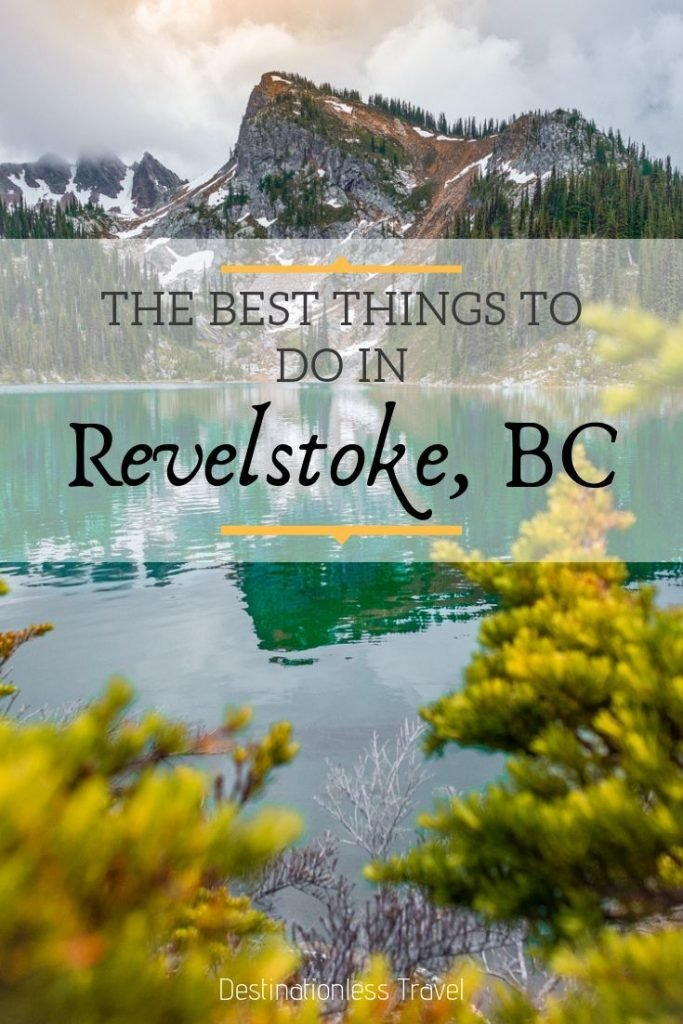 Things to do in Revelstoke, BC Pin