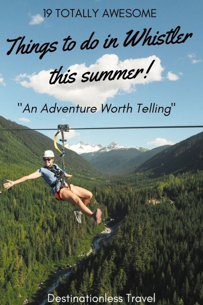 Things to do in whistler this summer pin