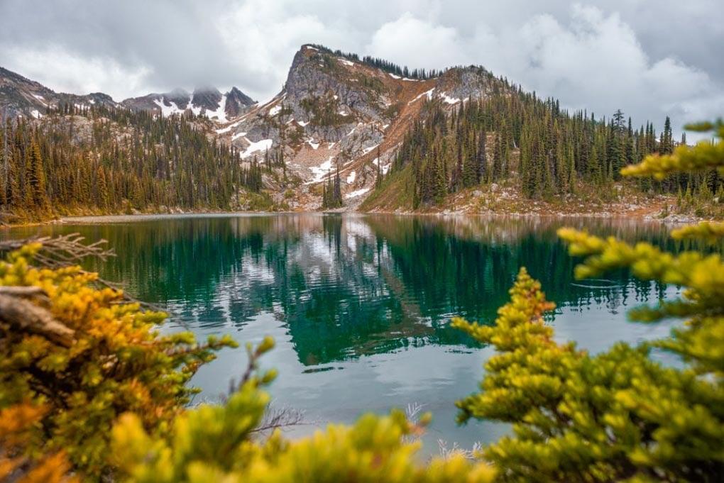 Eva Lake in Mt Revelstoke National Park