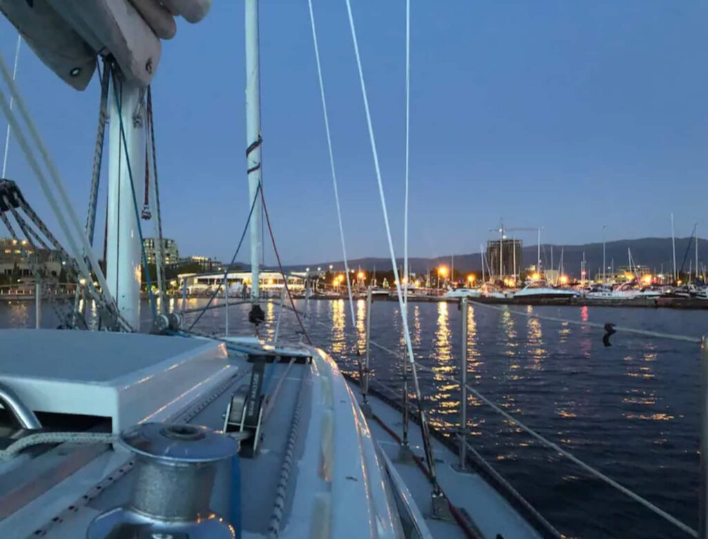 sailing tour in Vernon, BC