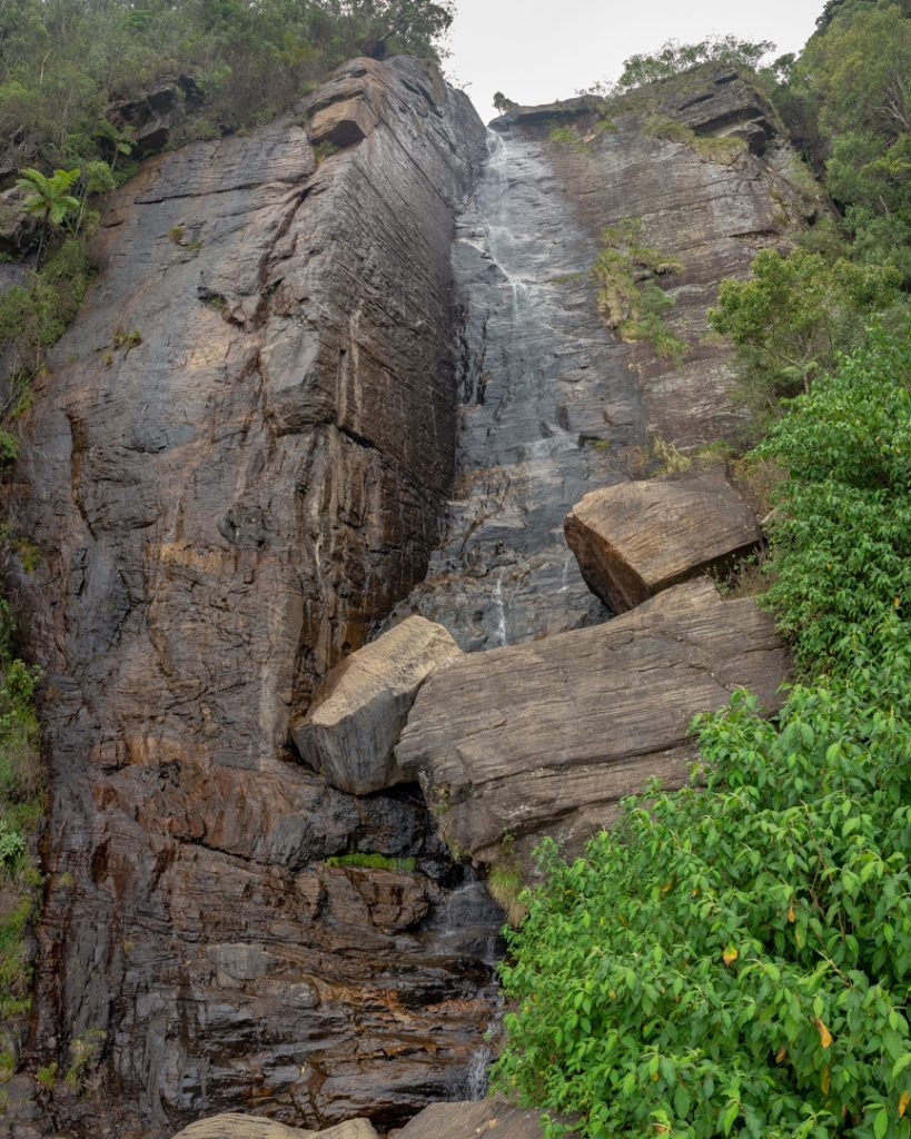 Lover Leap Waterfall Nuwara Eliya, Sri Lanka