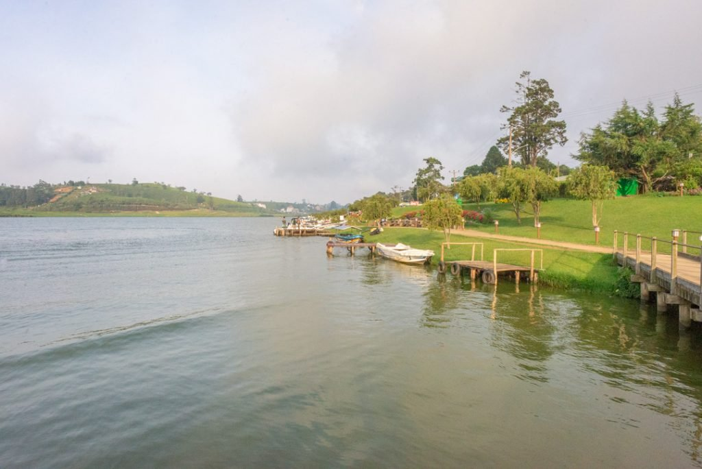 Lake Gregory in Nuwara Eliya