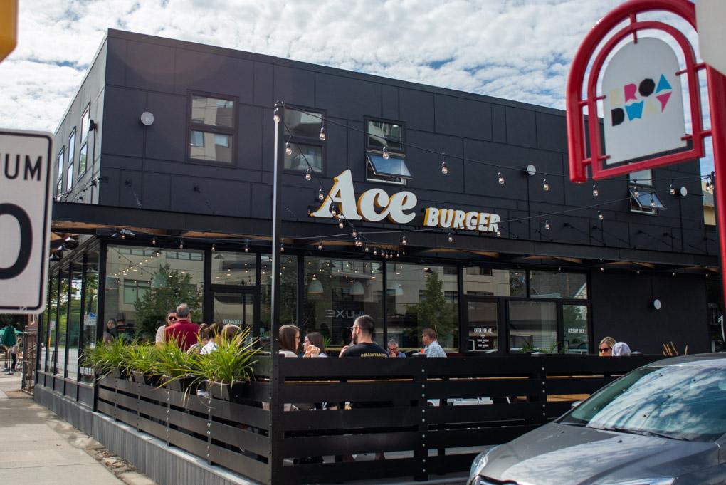 Ace burger Saskatoon