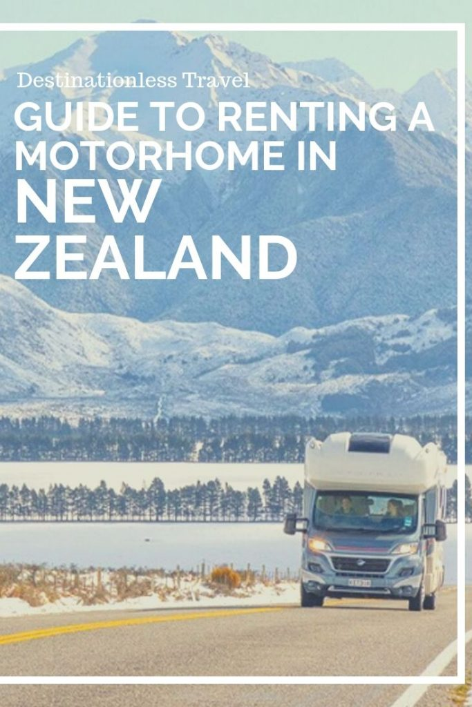 Renting a motorhome in New Zealand