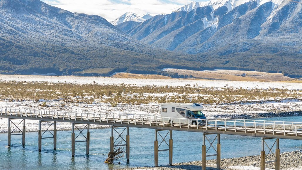 Motorhome hire in New Zealand