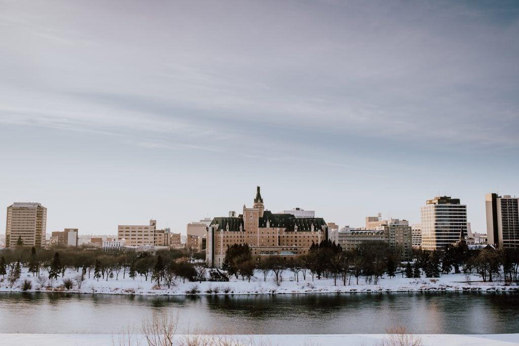 meesawin trail saskatoon in winter