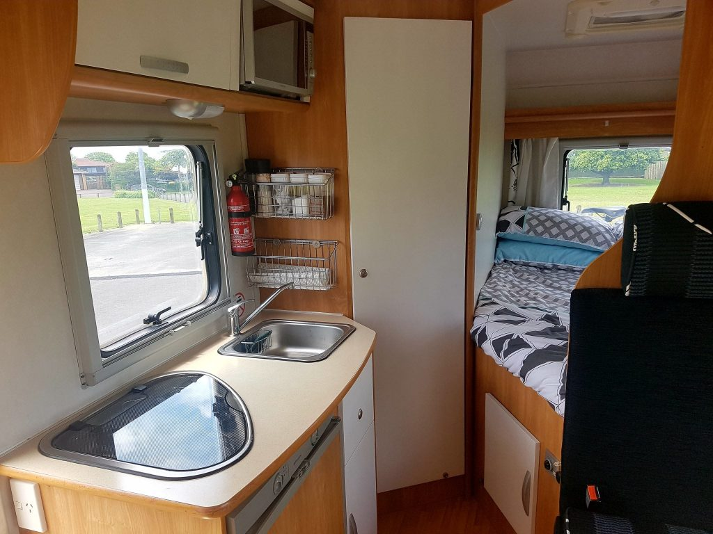 Budget Campervan at Kiwi Motorhomes